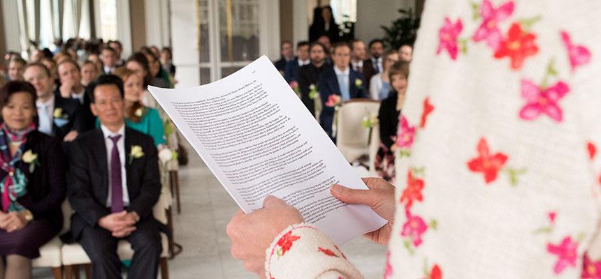 Trouwambtenaar - Pauline Suidgeest Ceremoniespreker