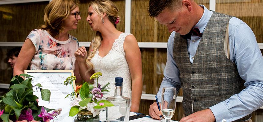 Festival-Wedding - Pauline Suidgeest Ceremoniespreker